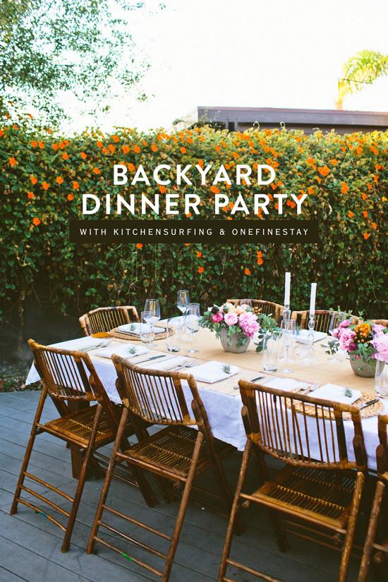 Backyard Dinner Party Ideas  D E S I G N L O V E F E S T BACKYARD DINNER PARTY