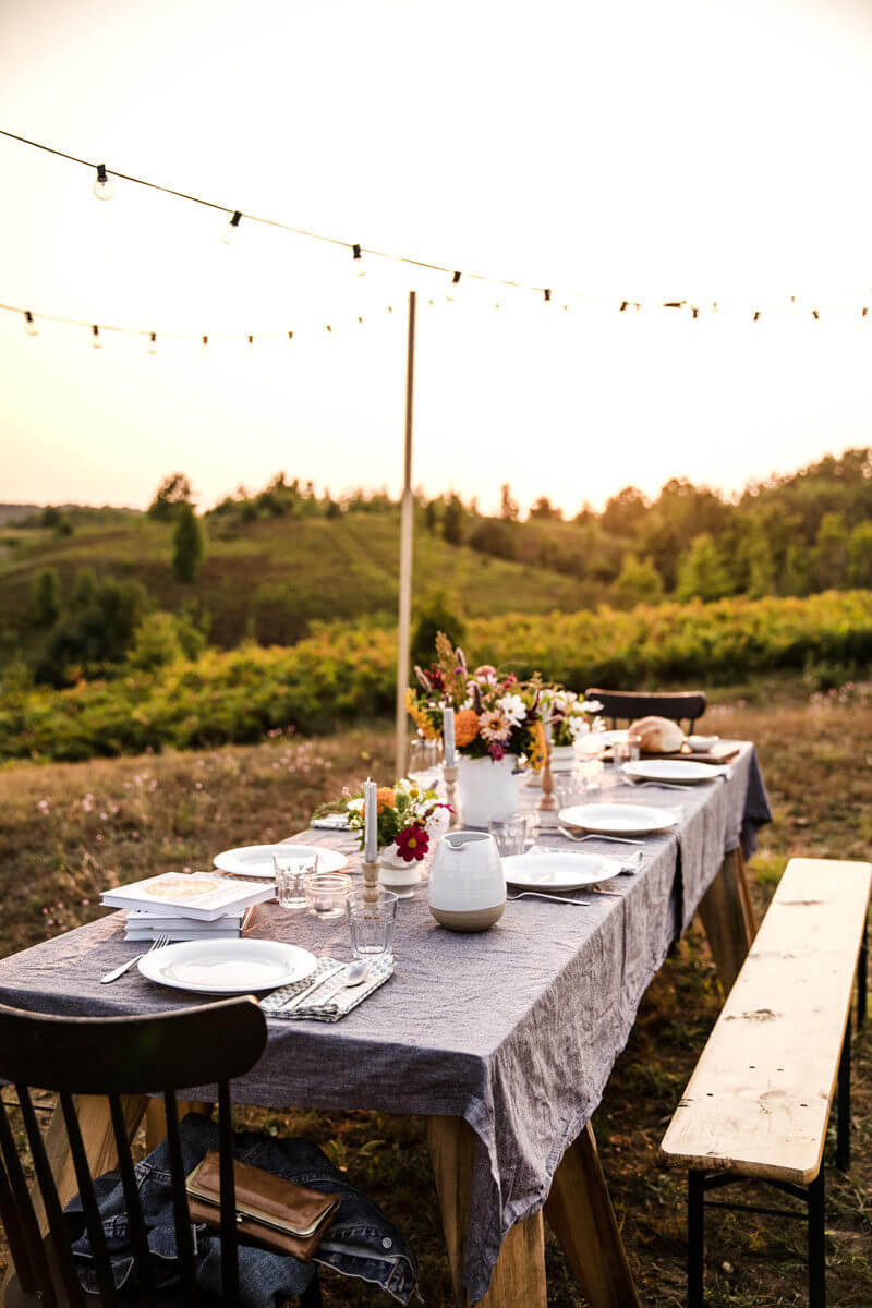 Backyard Dinner Party Ideas  How to Host a Simple Backyard Party – A Couple Cooks