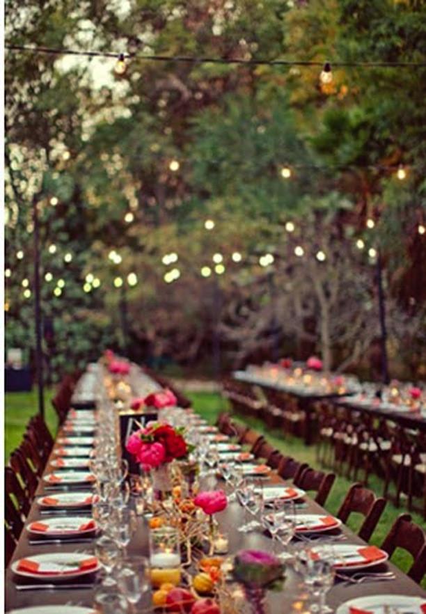 Backyard Dinner Party Ideas  Dinner Parties