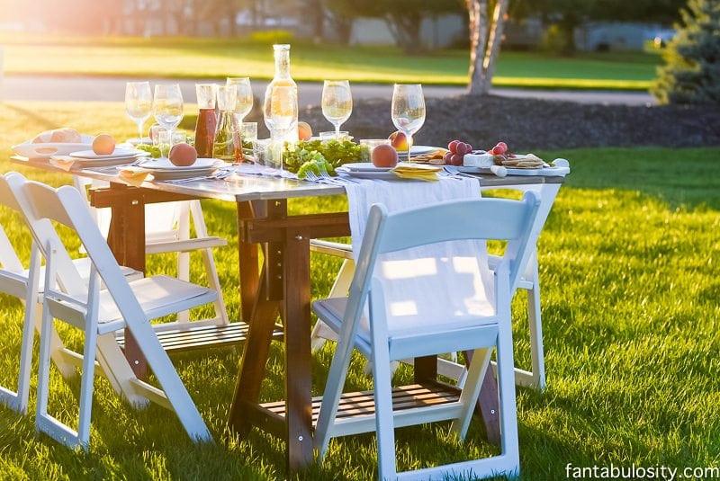 Backyard Dinner Party Ideas  Pop Up Dinner Backyard Party Ideas Simple & Classy