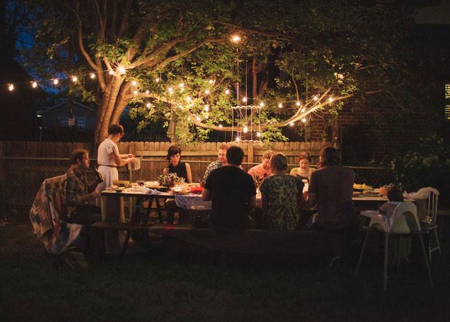 Backyard Dinner Party Ideas  A Surprise Backyard Proposal