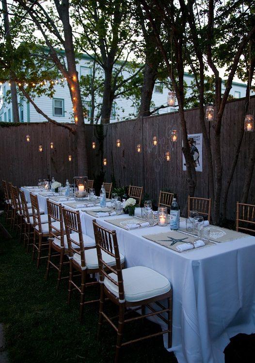 Backyard Dinner Party Ideas  backyard dinner party celebrations