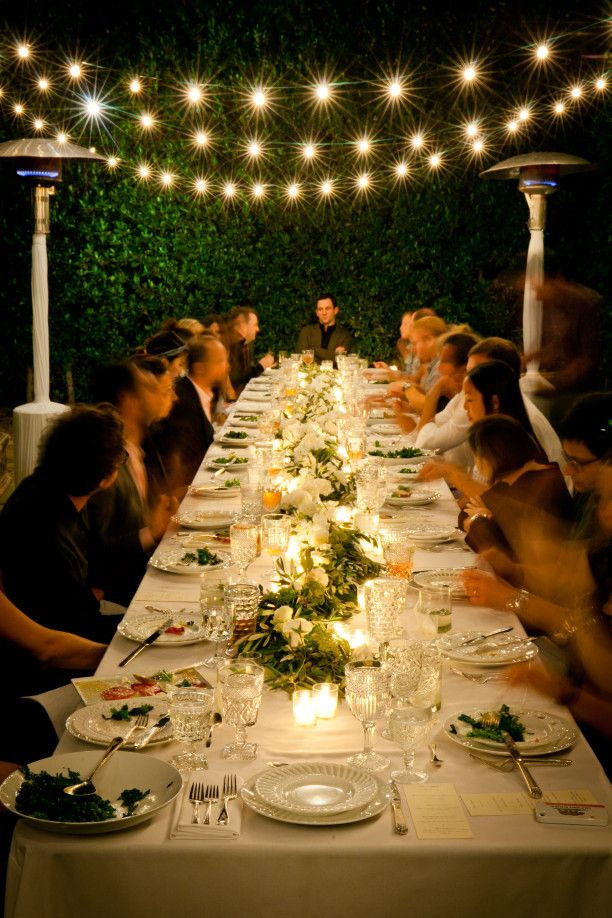 Backyard Dinner Party Ideas  my backyard birthday dinner because im addicted