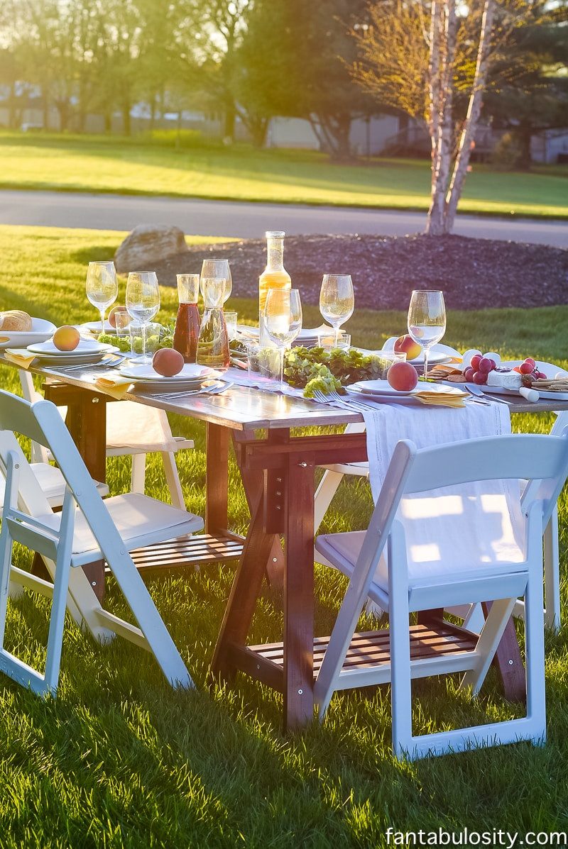 Backyard Dinner Party Ideas  Pop Up Backyard Dinner Party Fantabulosity