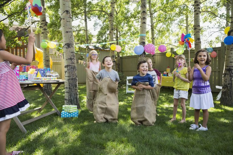 Backyard Kid Party Ideas  Plan Outdoor Obstacle Games for a Kids Birthday Party