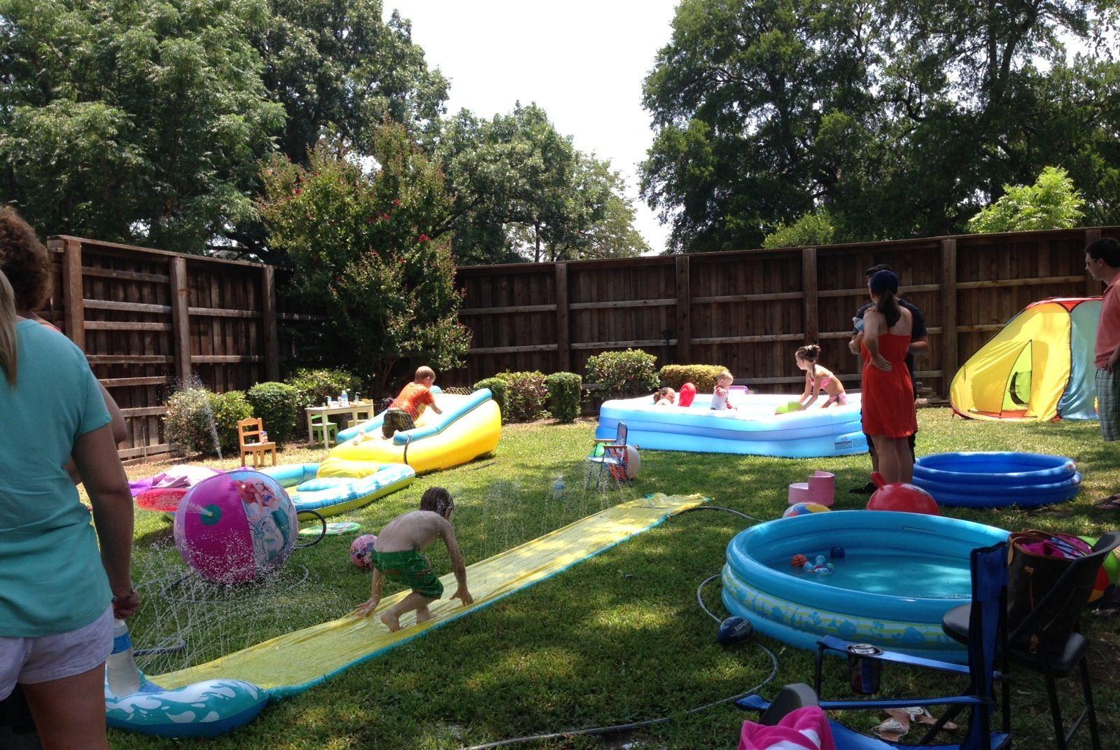Backyard Kid Party Ideas  Backyard set up Future Birthday Party Ideas
