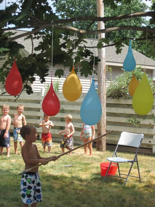 Backyard Kid Party Ideas  21 Fun June Birthday Party Ideas for Boys and Girls too