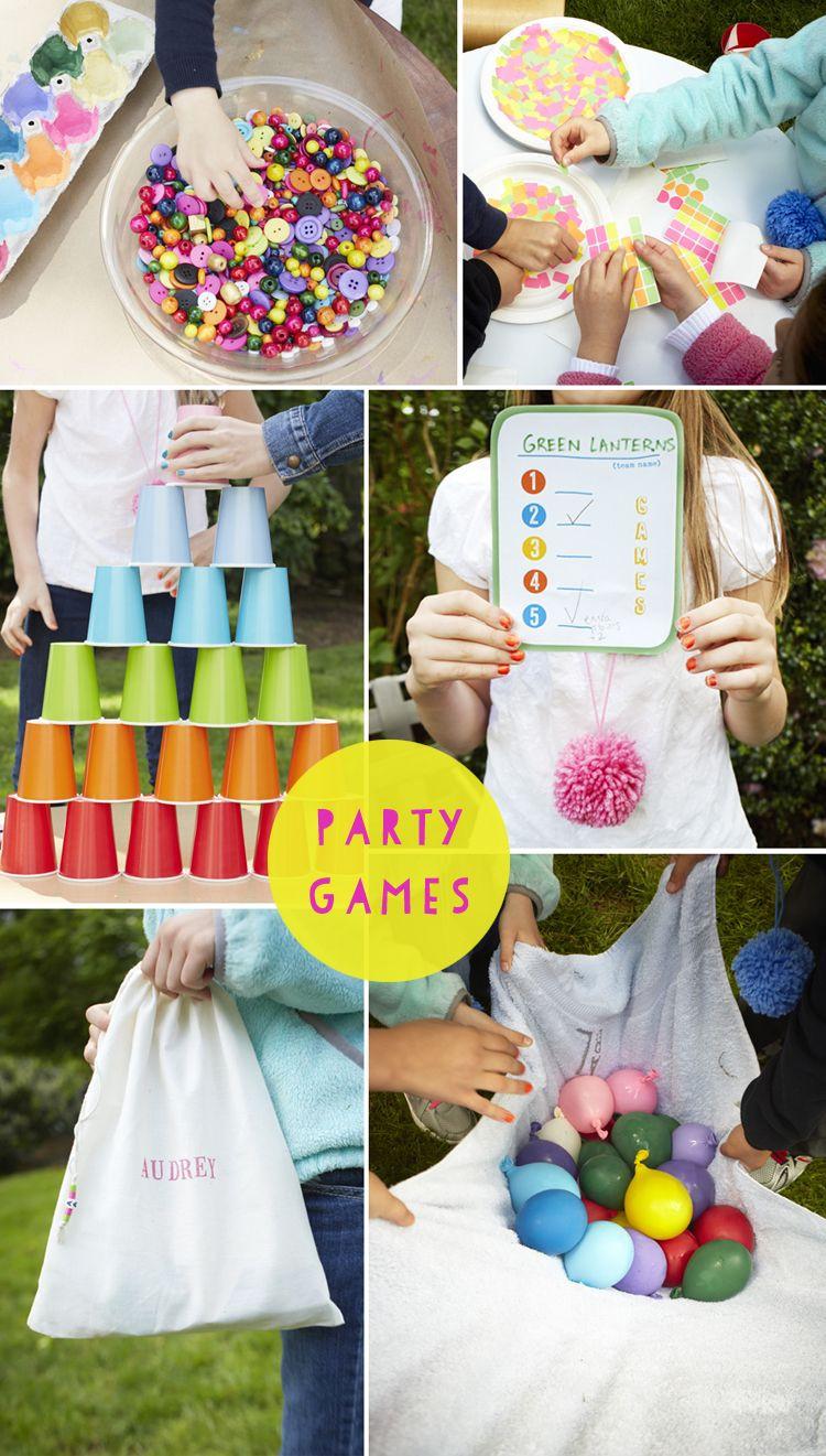 Backyard Kid Party Ideas  Backyard Birthday Parties on Pinterest