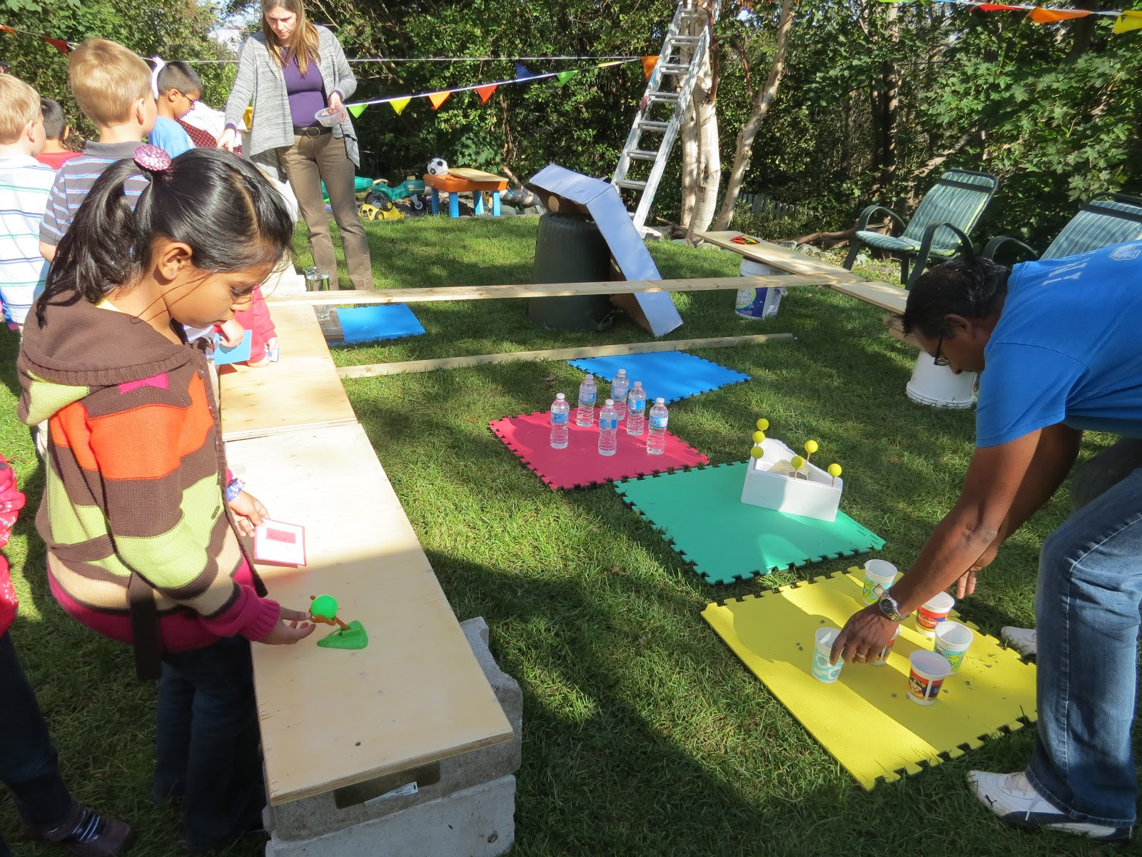 Backyard Kid Party Ideas  The Simple Craft Diaries Backyard Carnival Party