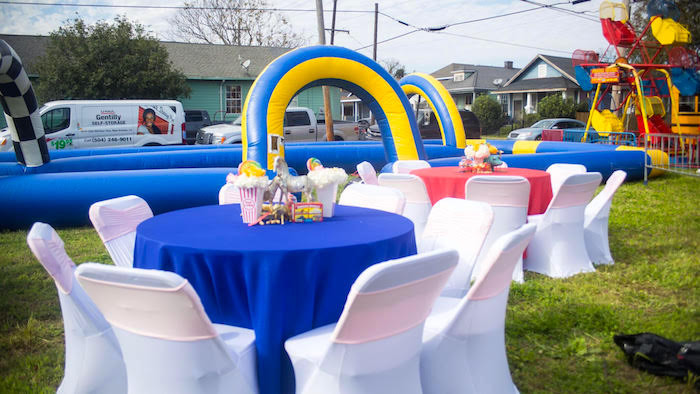 Backyard Kid Party Ideas  Kara s Party Ideas Backyard Carnival Birthday Party