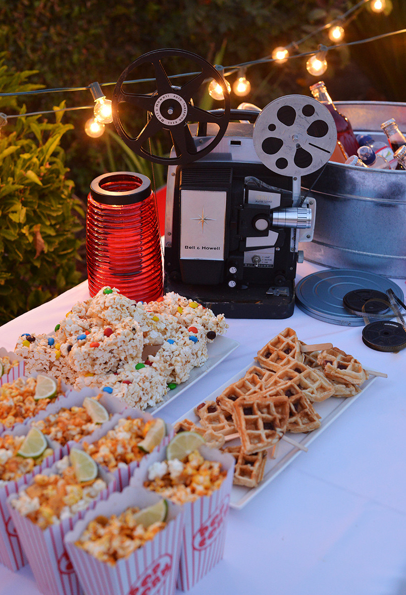 Backyard Movie Party Ideas  4 steps to hosting an outdoor movie night