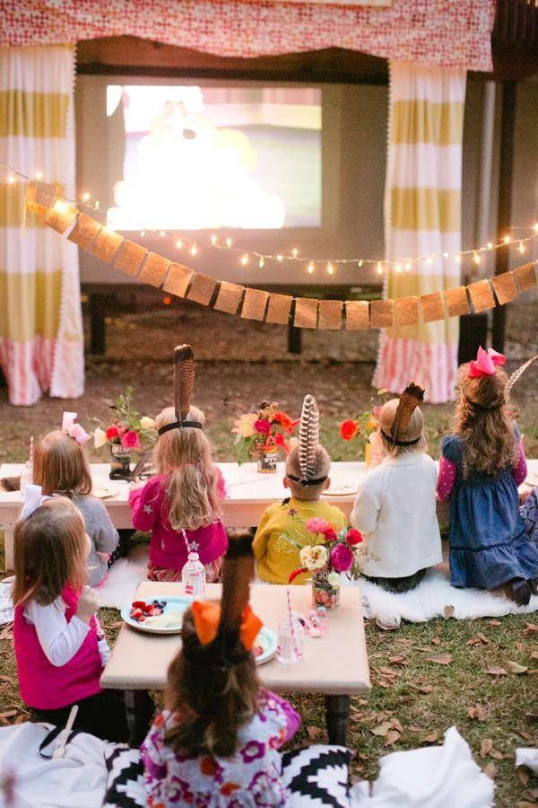 Backyard Movie Party Ideas  5 Backyard Entertaining Ideas We Love
