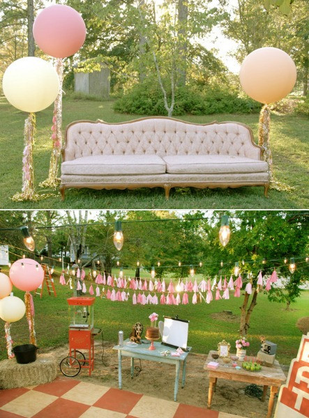 Backyard Party Decor Ideas  Movie Party Ideas Perfect For A Drive In At Home