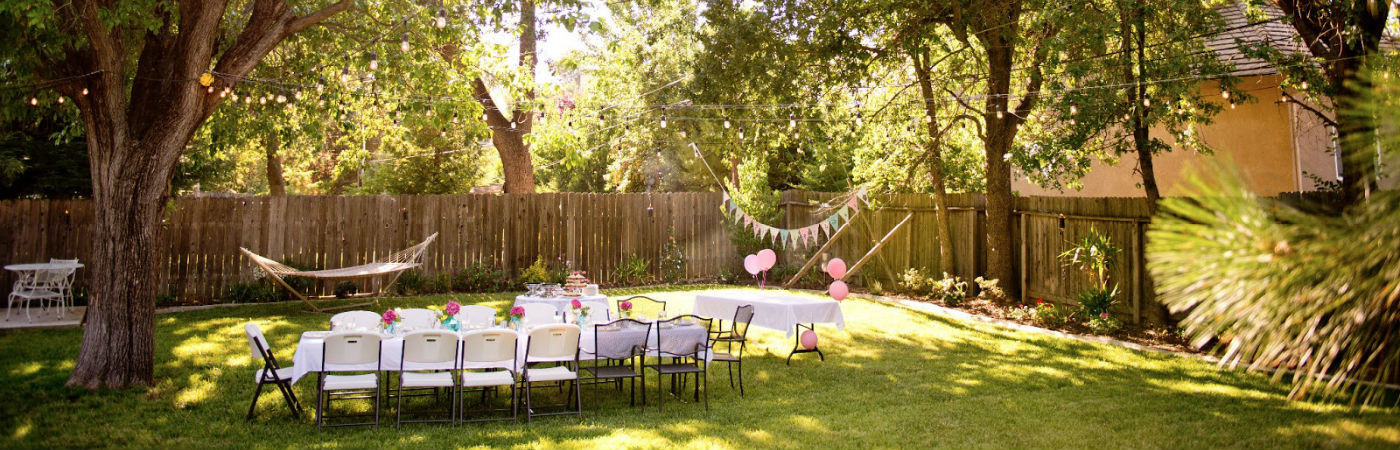 Backyard Party Decor Ideas  10 Unique Backyard Party Ideas Coldwell Banker Blue Matter
