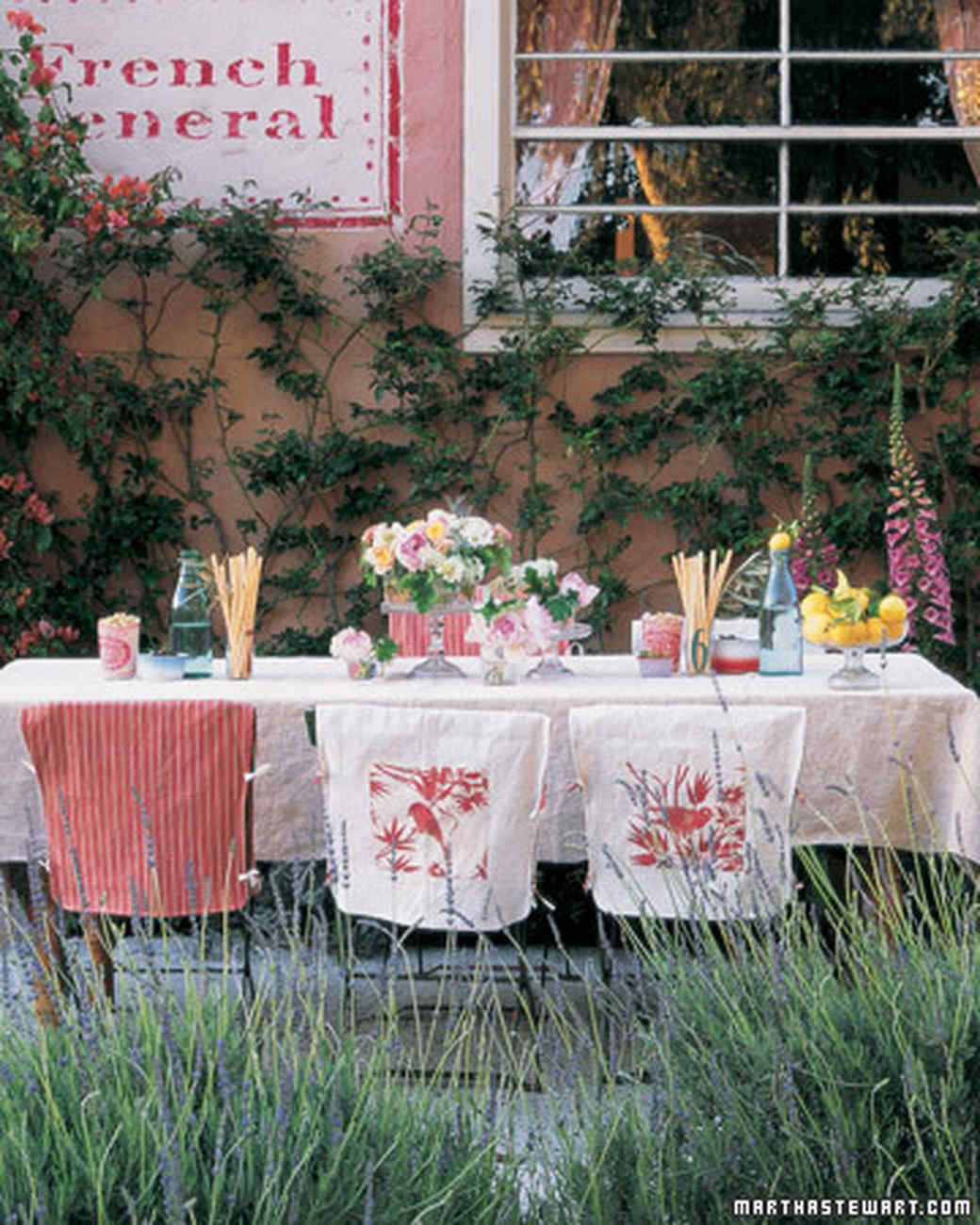 Backyard Party Decor Ideas  Outdoor Party Ideas