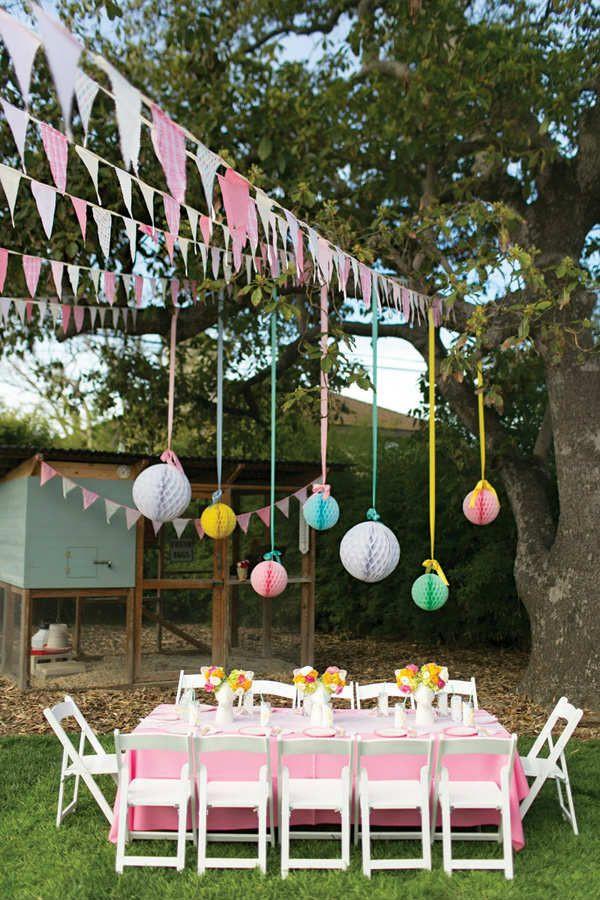 Backyard Party Decorating Ideas Pinterest  10 Kids Backyard Party Ideas Party