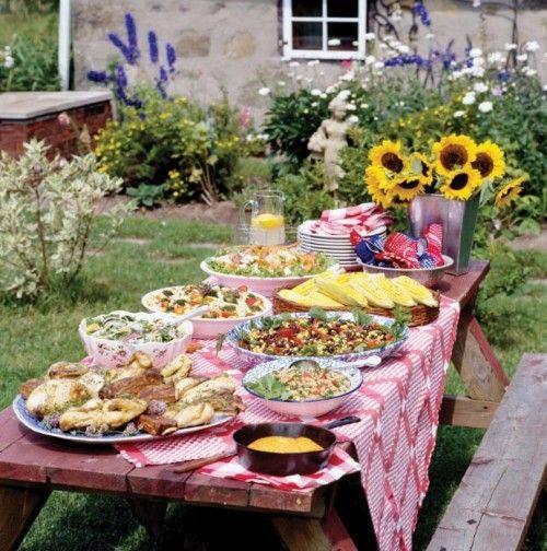 Backyard Party Decorating Ideas Pinterest  barbecue party decorations ideas Backyard BBQ