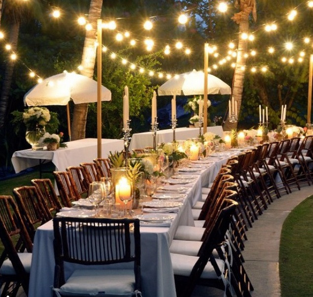 Backyard Party Decoration Ideas For Adults  Easy Backyard Party Décor Ideas