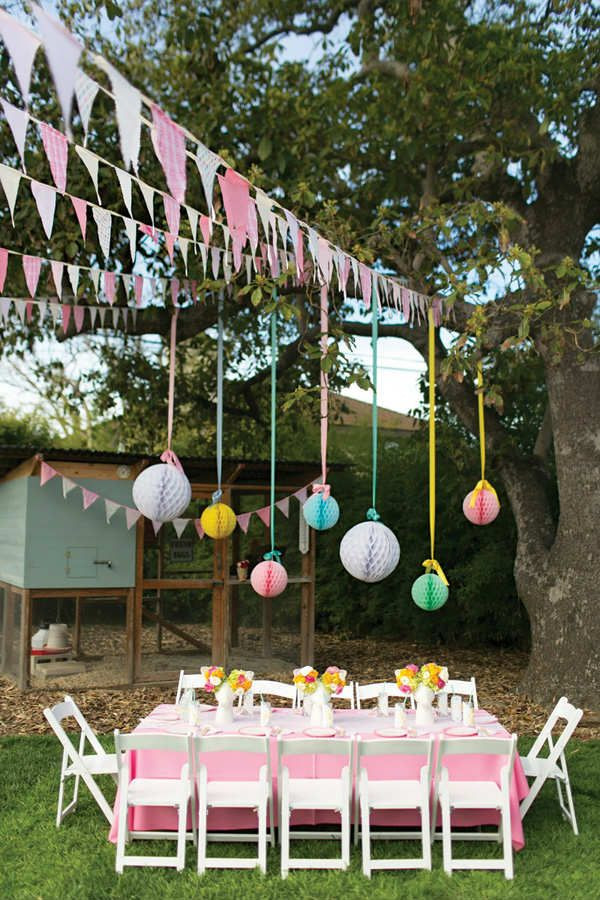 Backyard Party Decoration Ideas For Adults  10 Kids Backyard Party Ideas Party