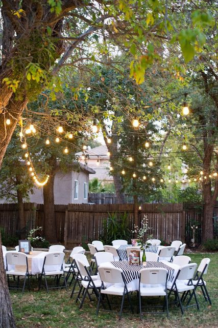 Backyard Party Decoration Ideas For Adults  Backyard Birthday Party For the Guy in Your Life