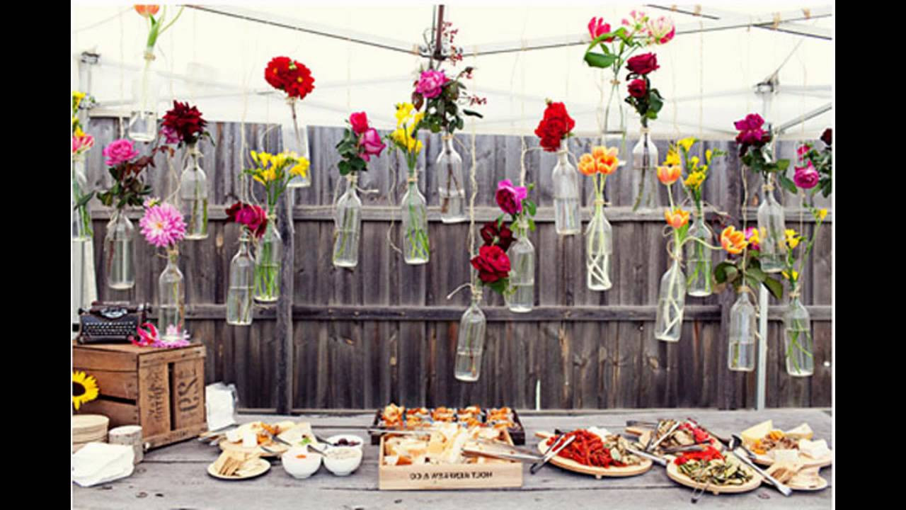 Backyard Party Design Ideas  Awesome Outdoor party decoration ideas