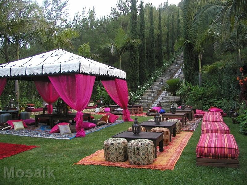 Backyard Party Design Ideas  Sweet 16th Moroccan Party