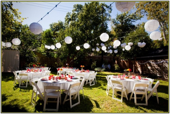 Backyard Party Design Ideas  Amazing Spring Outdoor Wedding Ideas