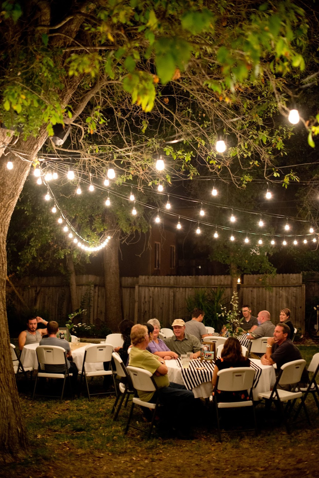 Backyard Party Ideas Adults  Domestic Fashionista Backyard Birthday Party For the Guy