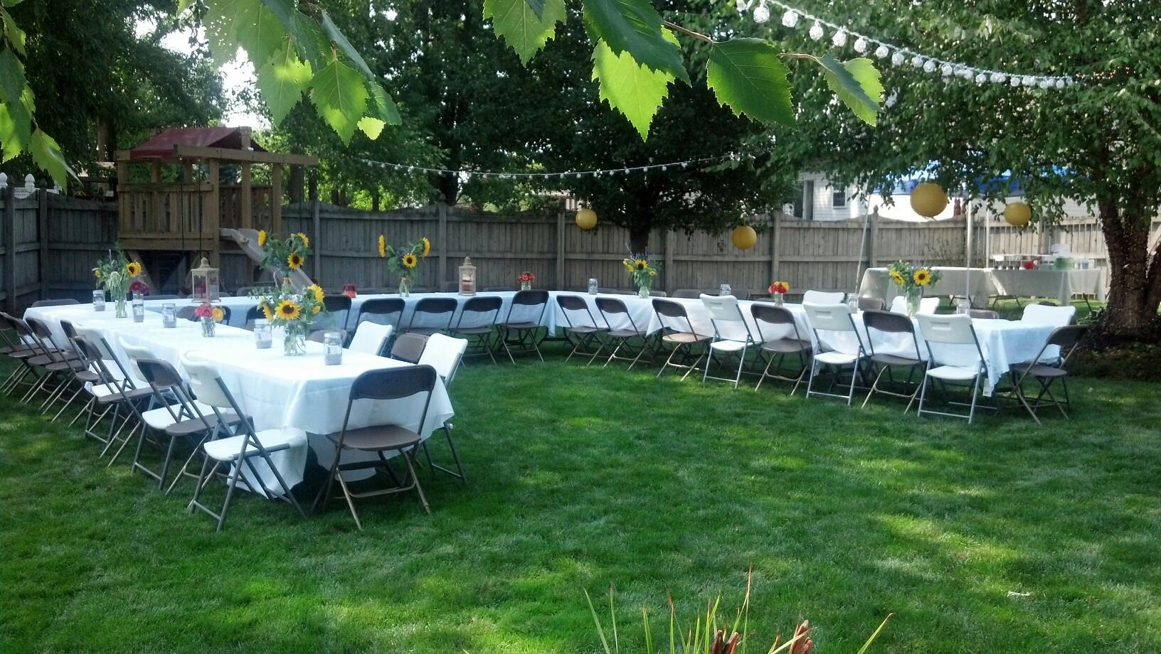 Backyard Party Ideas For Graduation  Graduation Party Ideas on a Bud