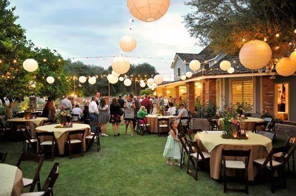 Backyard Party Ideas For Graduation  Outdoor Graduation Party Ideas