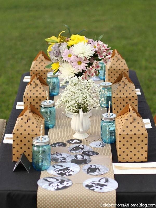 Backyard Party Ideas For Graduation  25 DIY Graduation Party Decoration Ideas Hative