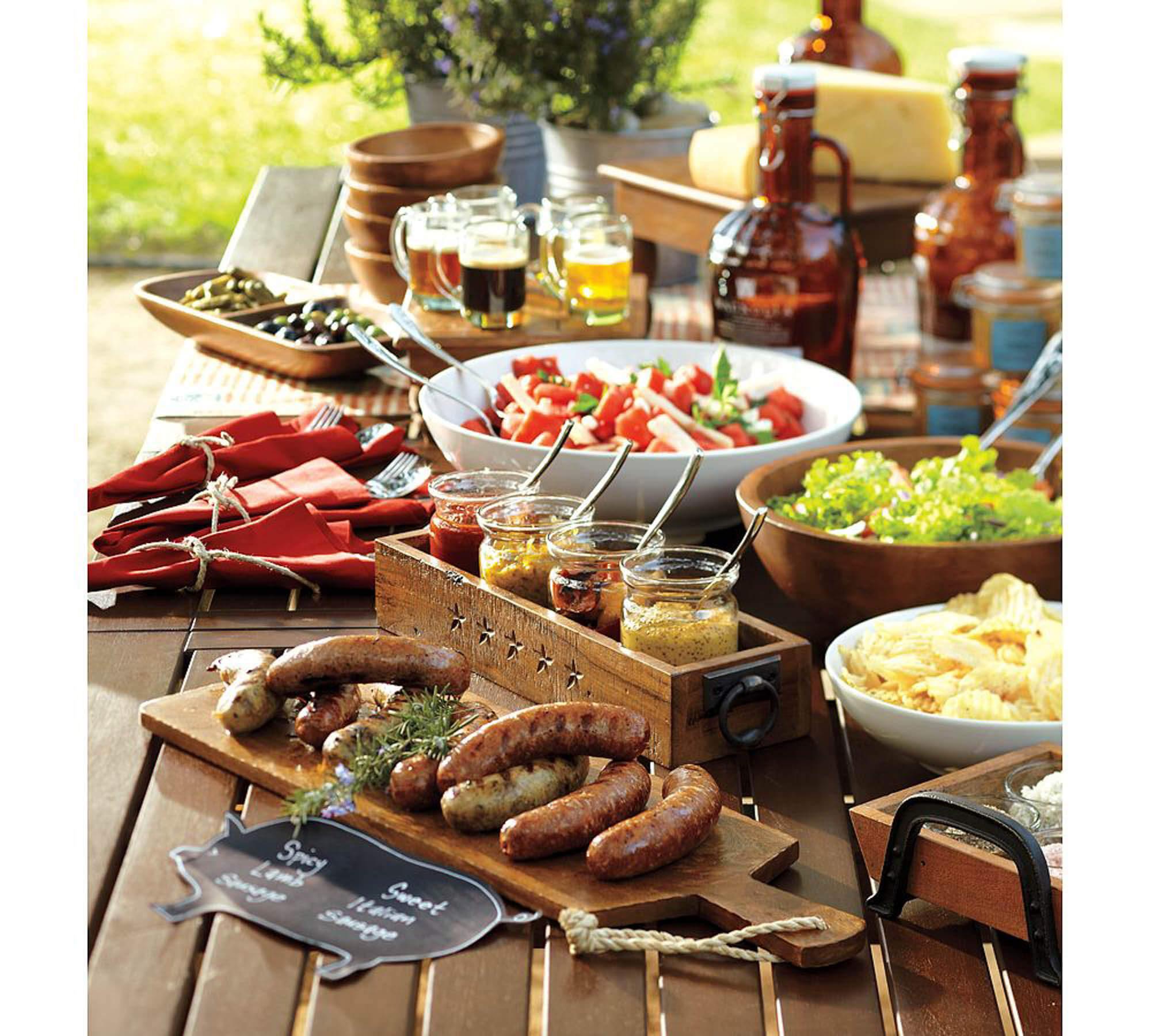 Backyard Party Menu Ideas  How to Host a Backyard Party & BBQ — Gentleman s Gazette