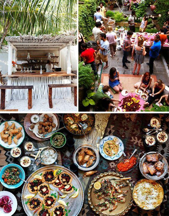Backyard Party Menu Ideas  Best 25 Backyard barbeque party ideas on Pinterest