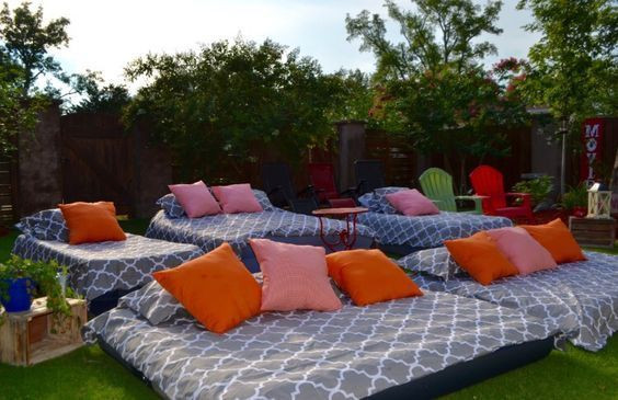 Backyard Party Seating Ideas  31 Super Fun Backyard Activities You and Your Family Will