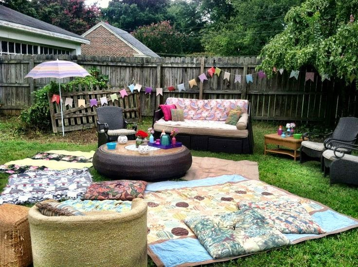 Backyard Party Seating Ideas  Southern Bourbon Mountains Backyard Parties