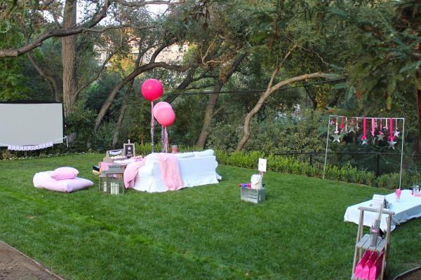 Backyard Teenage Birthday Party Ideas  Under the Stars Tween Teen Outdoor Birthday Party Planning