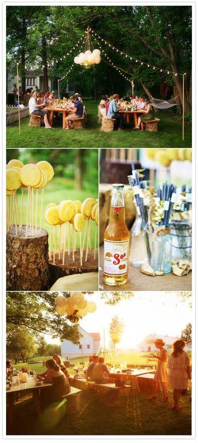 Backyard Teenage Birthday Party Ideas  Pinterest • The world's catalog of ideas