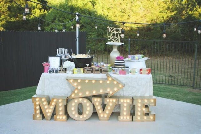 Backyard Teenage Birthday Party Ideas  16 Themes for Your 30th Birthday Party