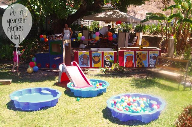 Backyard Water Park Party Ideas  Big Top Circus