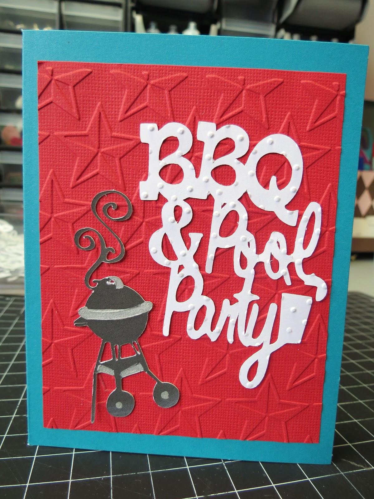 Bbq Pool Party Ideas  C est La Vie Designs Unltd LLC BBQ and Pool Party Invite