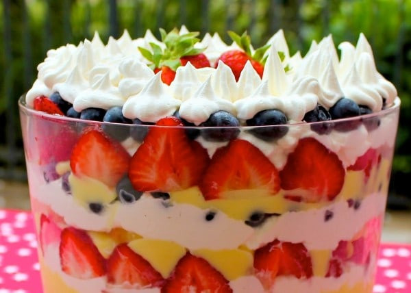 Bbq Pool Party Ideas  20 Red White & Blue Patriotic Desserts to Proudly Hail