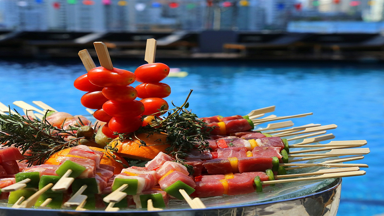 Bbq Pool Party Ideas  Waterford HOA Clemmons North Carolina