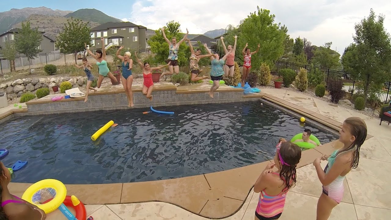 Bbq Pool Party Ideas  Summer BBQ and Pool Party