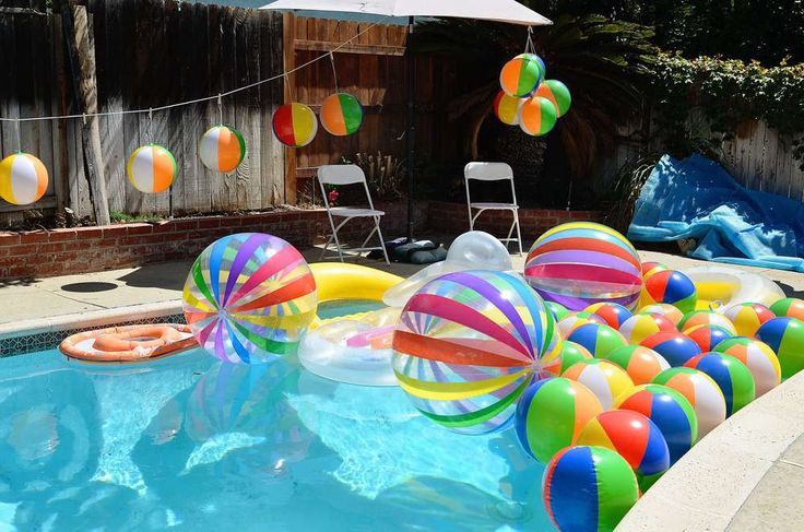 Beach Ball Pool Party Ideas  1000 ideas about Beach Ball Games on Pinterest