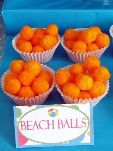 Beach Ball Pool Party Ideas  1000 ideas about Pool Party Foods on Pinterest