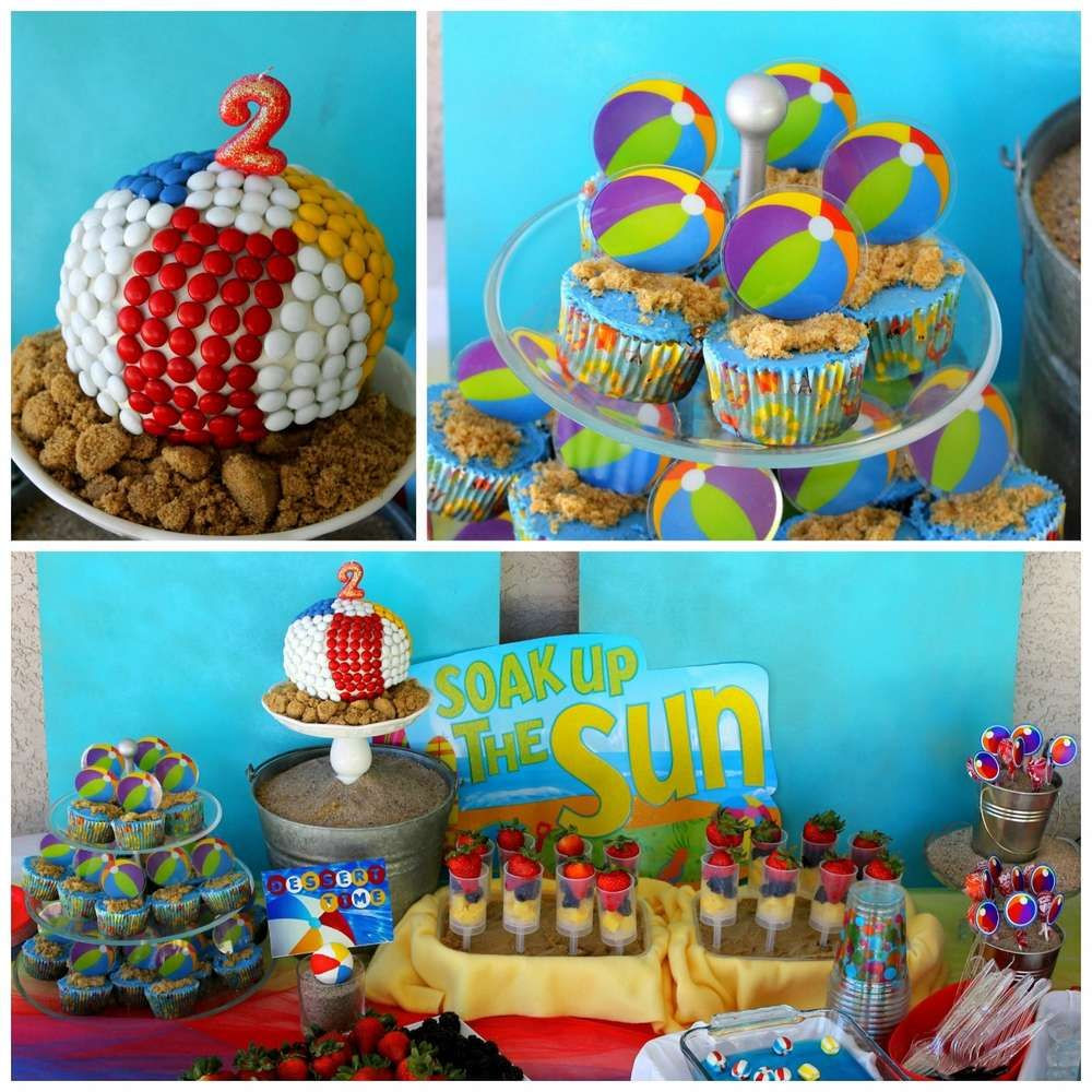 Beach Ball Pool Party Ideas  Beach Birthday Party s and for