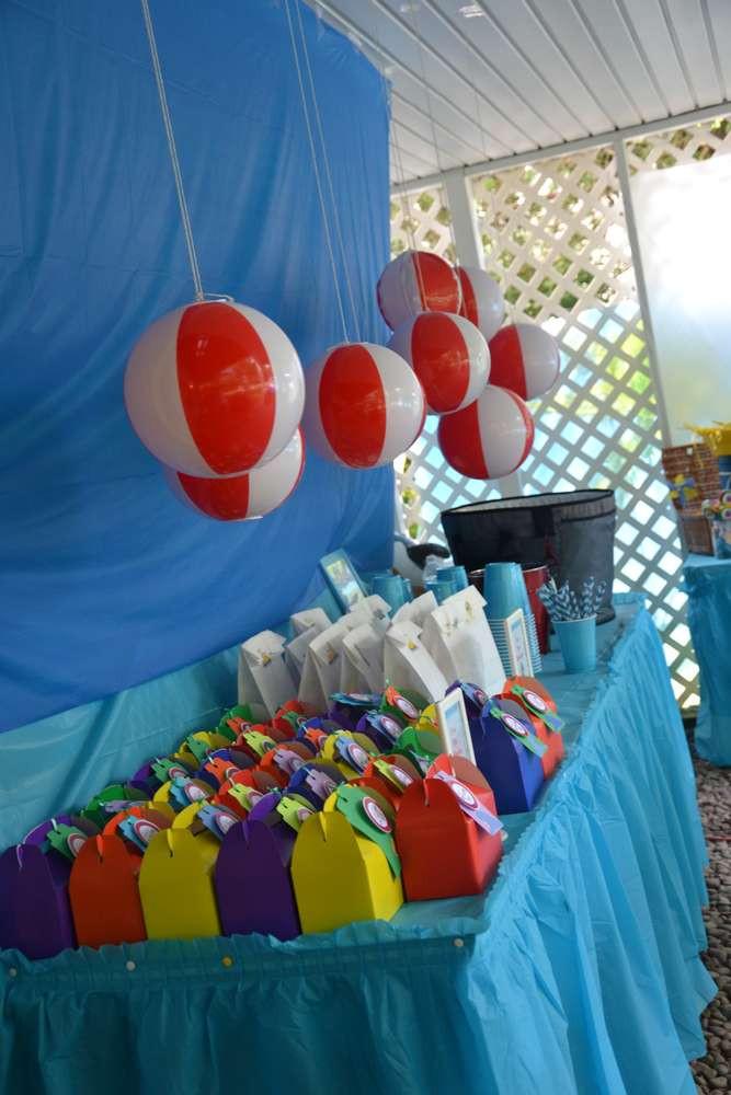 Beach Ball Pool Party Ideas  The Beach Birthday Party Ideas 10 of 70