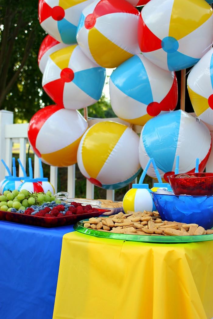 Beach Ball Pool Party Ideas  Have a Ball Summer Party Un mon Designs