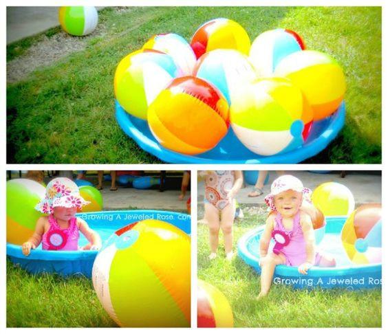 Beach Ball Pool Party Ideas  Pinterest • The world's catalog of ideas