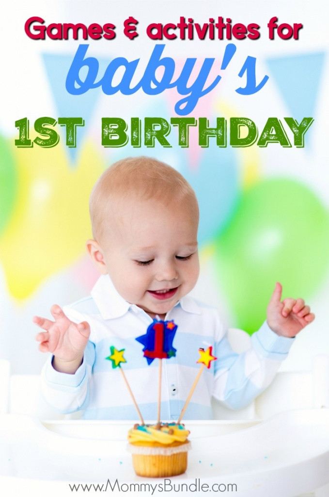 Best Birthday Party Games  The Best Party Games for Baby s First Birthday Mommy s